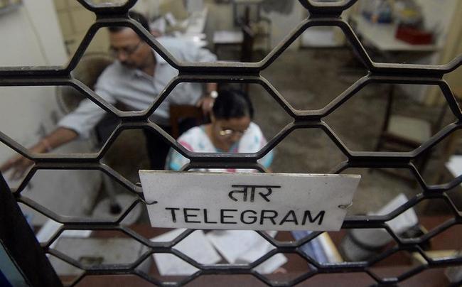 INDIA-TELECOMS-TELEGRAM
