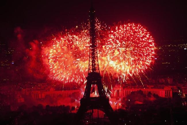 Marvellous Eiffel Tower on Bastille Day