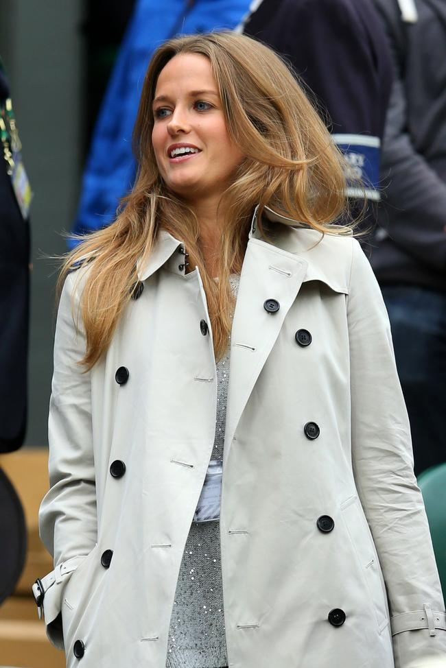 Kim Sears ,the girlfriend of Andy Murray