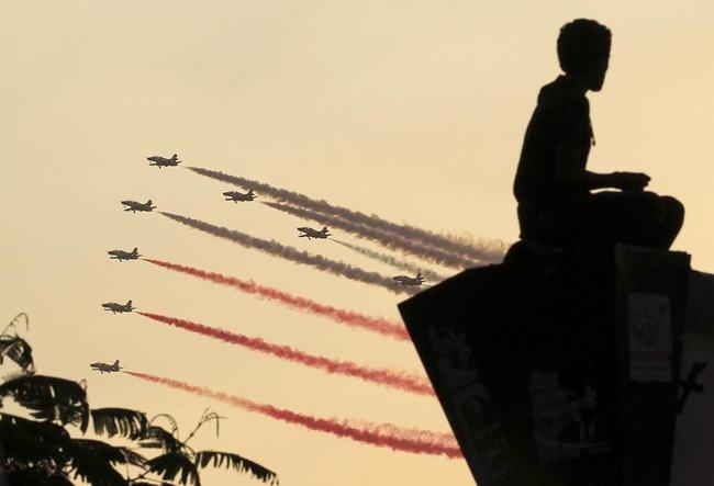Egyptian Military Jets in Cairo