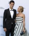 Novak Djokovic and girlfriend Jelena Ristic