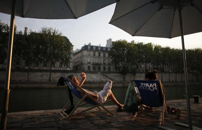 Lazing on the Beaches in Paris
