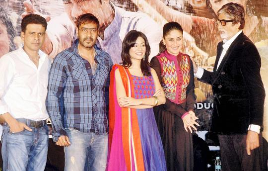 Manoj, Ajay, Amrita, Kareena, Amitabh