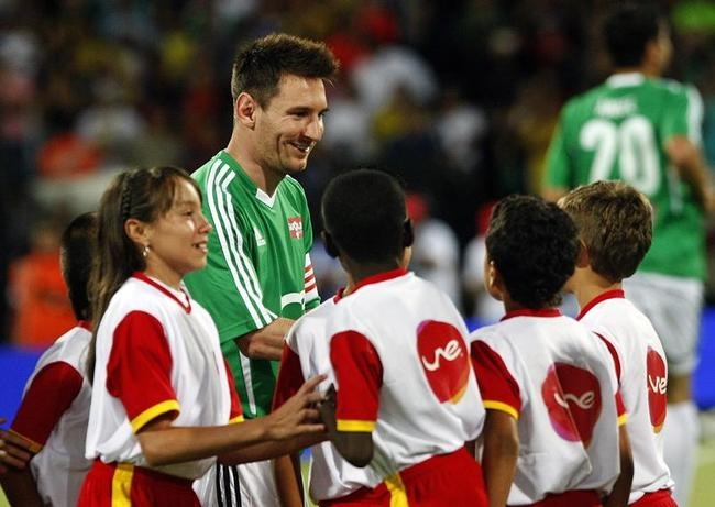 Messi & Friends v The World XI - Game One