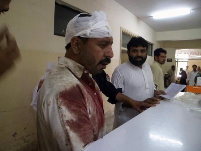 Twin Blasts in Pakistan Kill 40