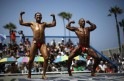 Muscle Beach Independence Day bodybuilding