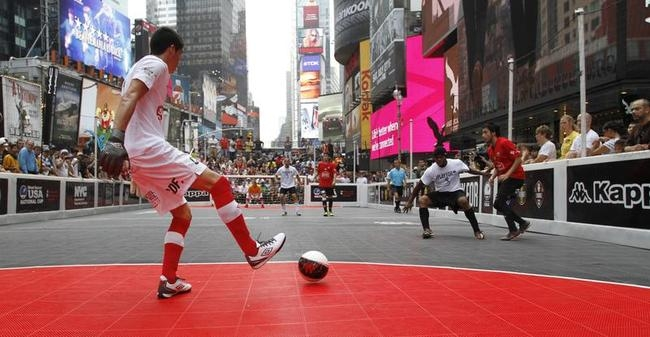 Street Soccer in New York