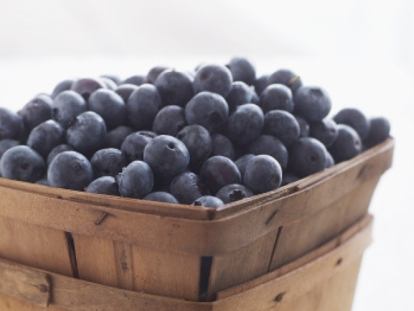 Low Calorie Late Evening Snack # 9: Blueberries