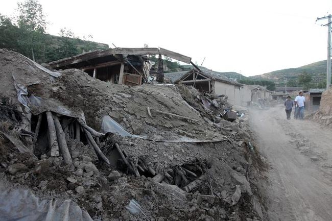 Earthquake Kills 89 In Northwest China Gansu Province
