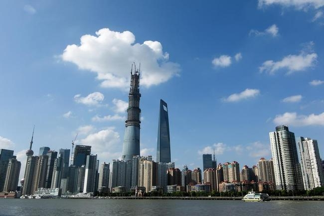 Shanghai Tower Stands Tall