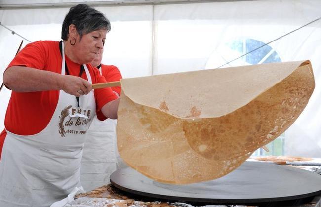 Largest Pancake Making Contest