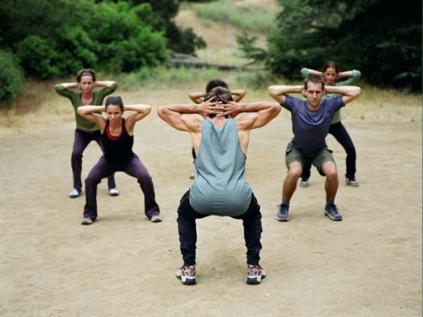 Top Home Cardio Workouts # 12: Squat jump