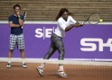 Serena Williams and Patrick Mouratouglou