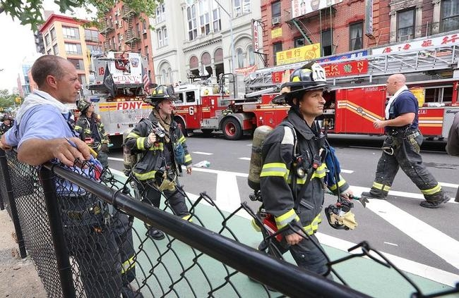 New York City Building Explosion