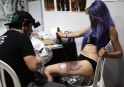 Crazy Tattoos at Medellin Convention