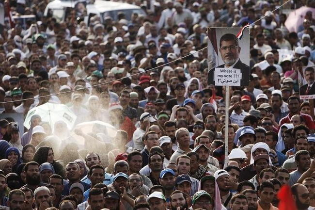 Pro-Morsi Supporters Killed In Shooting Incident Outside Presidential Guard Barracks