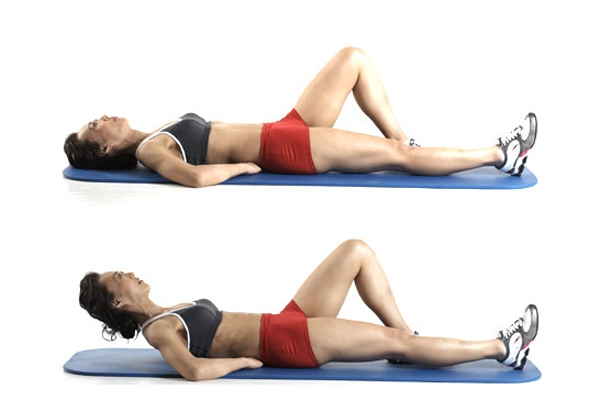 Home Workouts: 20 Best Workouts for Sexy Toned Thighs : Static quadriceps