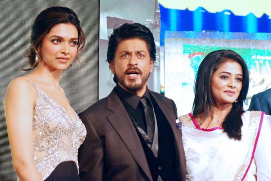Deepika Padukone, SRK, Priyamani
