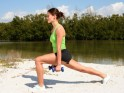 Top Home Cardio Workouts # 5: Lunges