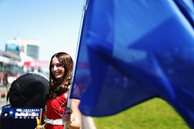 Grid Girls at the Grand Prix of Germany