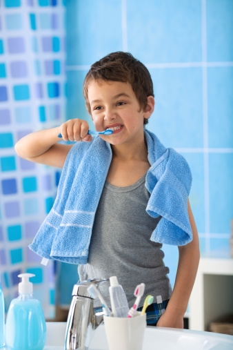 Dental Health Tip # 1: Brush twice a day