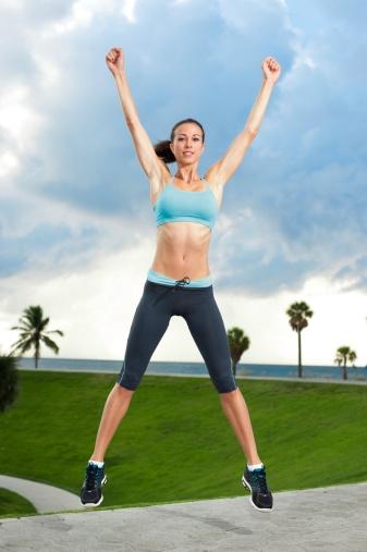 Top Home Cardio Workouts # 2: Jumping jacks