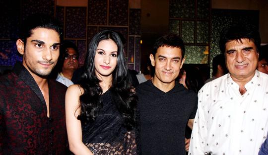 Prateik, Amyra Dastur, Aamir Khan, Raj Babbar