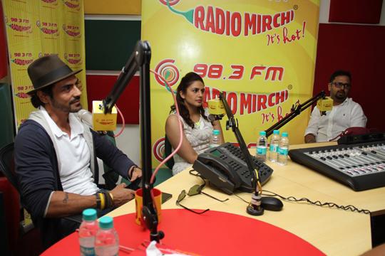 Arjun Rampal, Huma Qureshi, Nikhil Advani