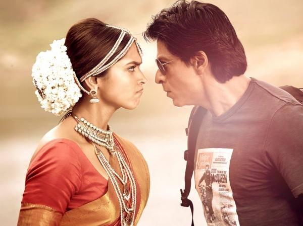 Deepika, SRK