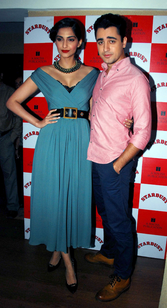 Imran Khan and Sonam Kapoor