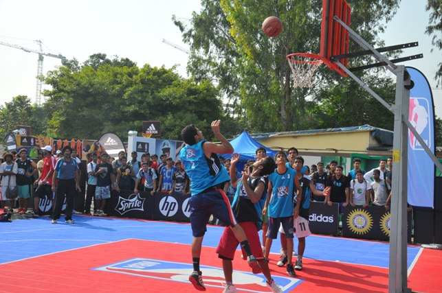 NBA Jam 2012 in Delhi