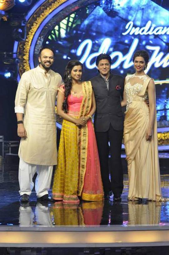 Rohit Shetty, Shreya Ghoshal, SRK, Deepika