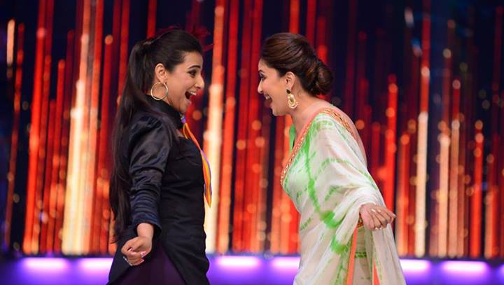 Vidya Balan, Madhuri Dixit