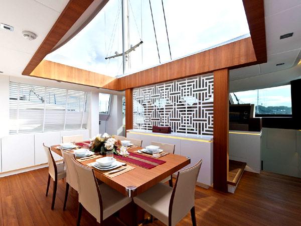 Inside AB116 Diamond Yacht