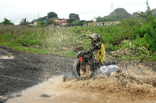 Monsoon Scooter Rally 2013