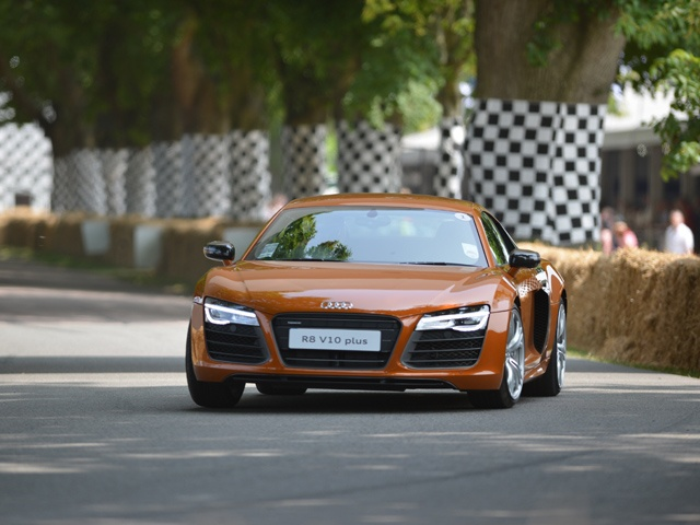 Audi R8, 2013 Goodwood Festival of Speed
