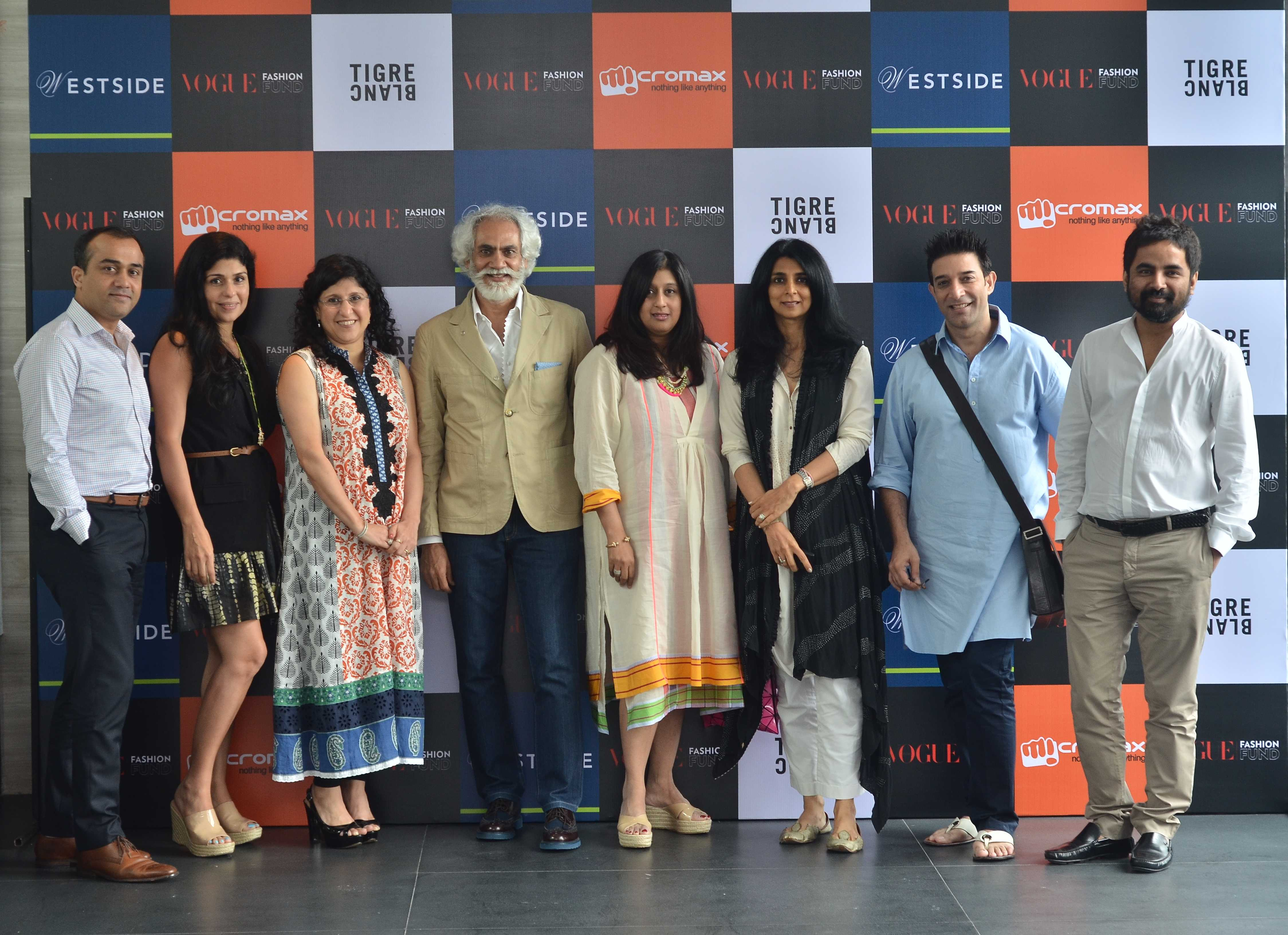 Entries for the Vogue Fashion Fund were invited on pre-defined eligibility criteria. The jury includes FDCI's Sunil Sethi, Gaurav Mahajan-COO of Westside, renowned fashion designers Sabyasachi Mukherjee and Suneet Varma as well as retail experts Alka Ni