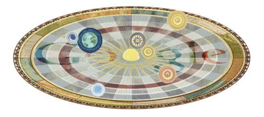 Google Doodle Copernicus