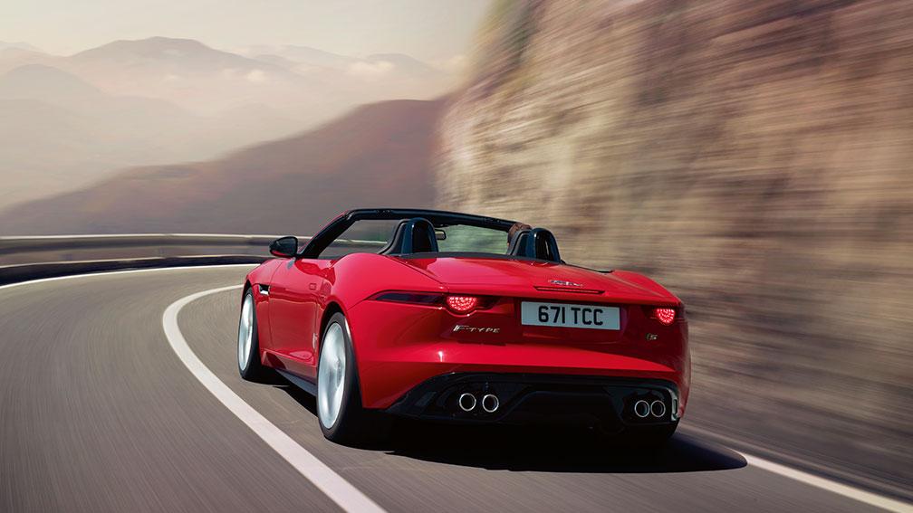 Jaguar F-Type Sports Car