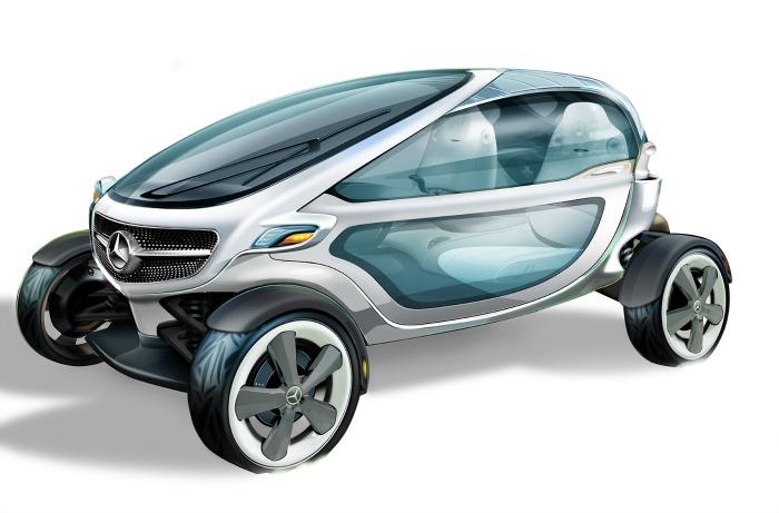 Mercedes-Benz Golf Cart Concept
