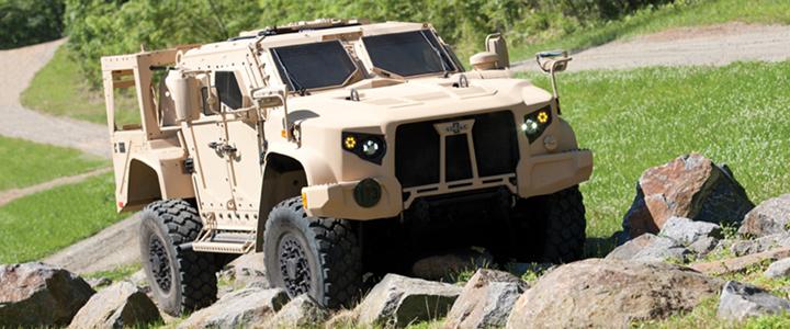 Oshkosh Light Combat Vehicles