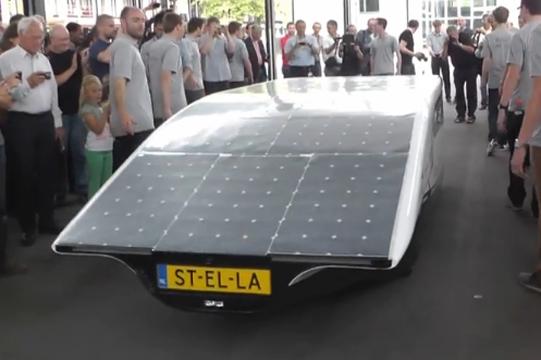 Solar-Powered Family Car