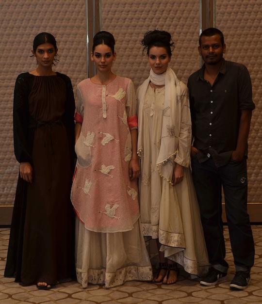 Vogue Fashion Fund semi-finalist Ajit Kumar
