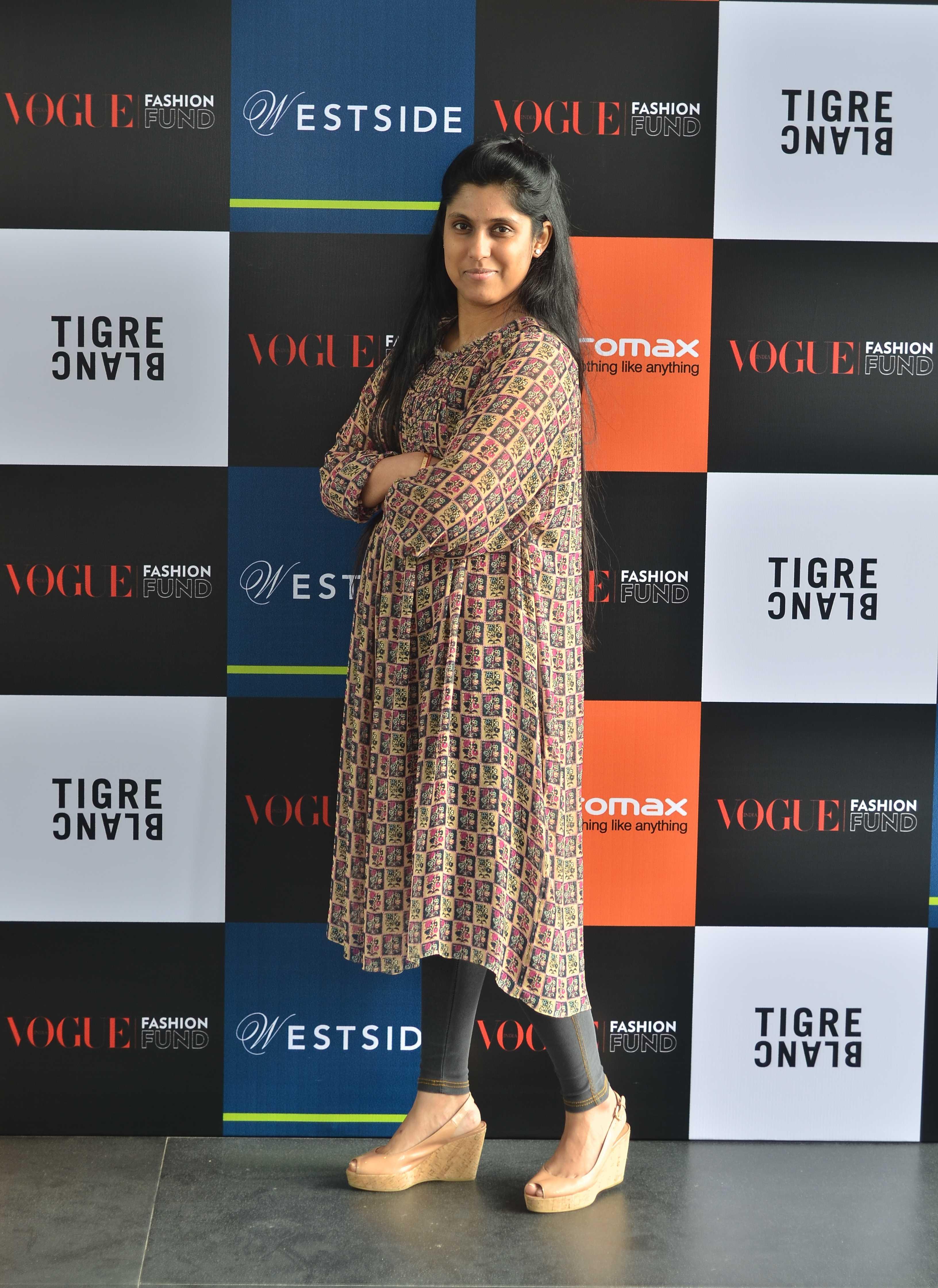 Vogue Fashion Fund semi-finalist Tanvi Kedia