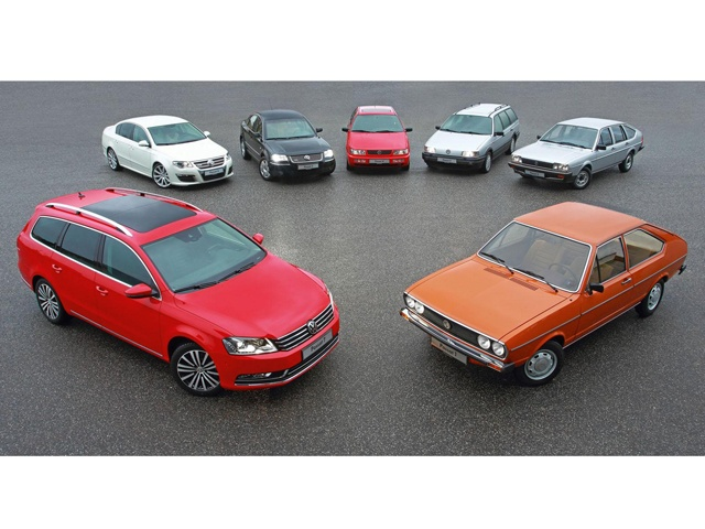 Volkswagen Passat Through the Years