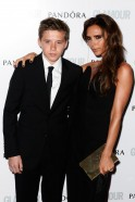 Spotted: Posh Spice With Son Brooklyn
