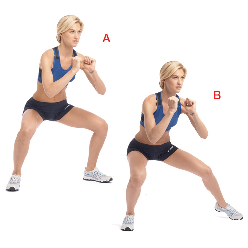 Workouts: 20 Best Home Workouts : Lateral Shuffle