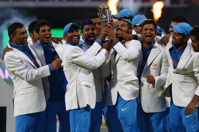 England v India: Final - ICC Champions Trophy