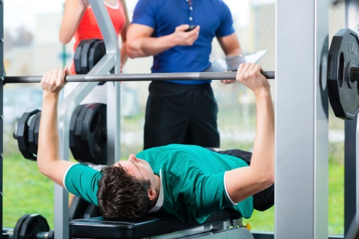 20 Upper Body Workouts for Men Incline barbell bench press