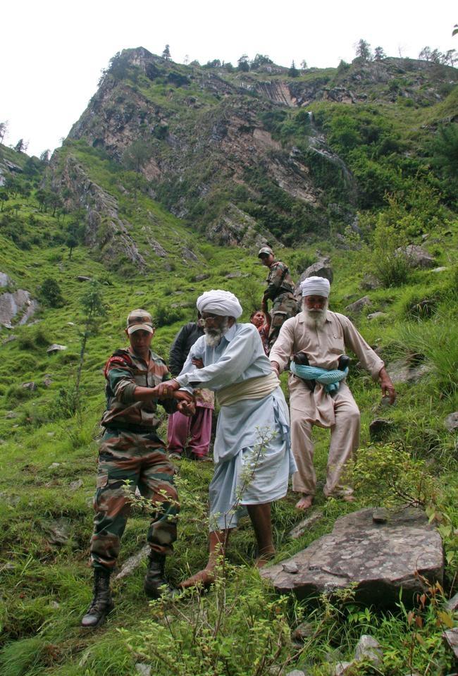 Rescue operations in Uttarakhand